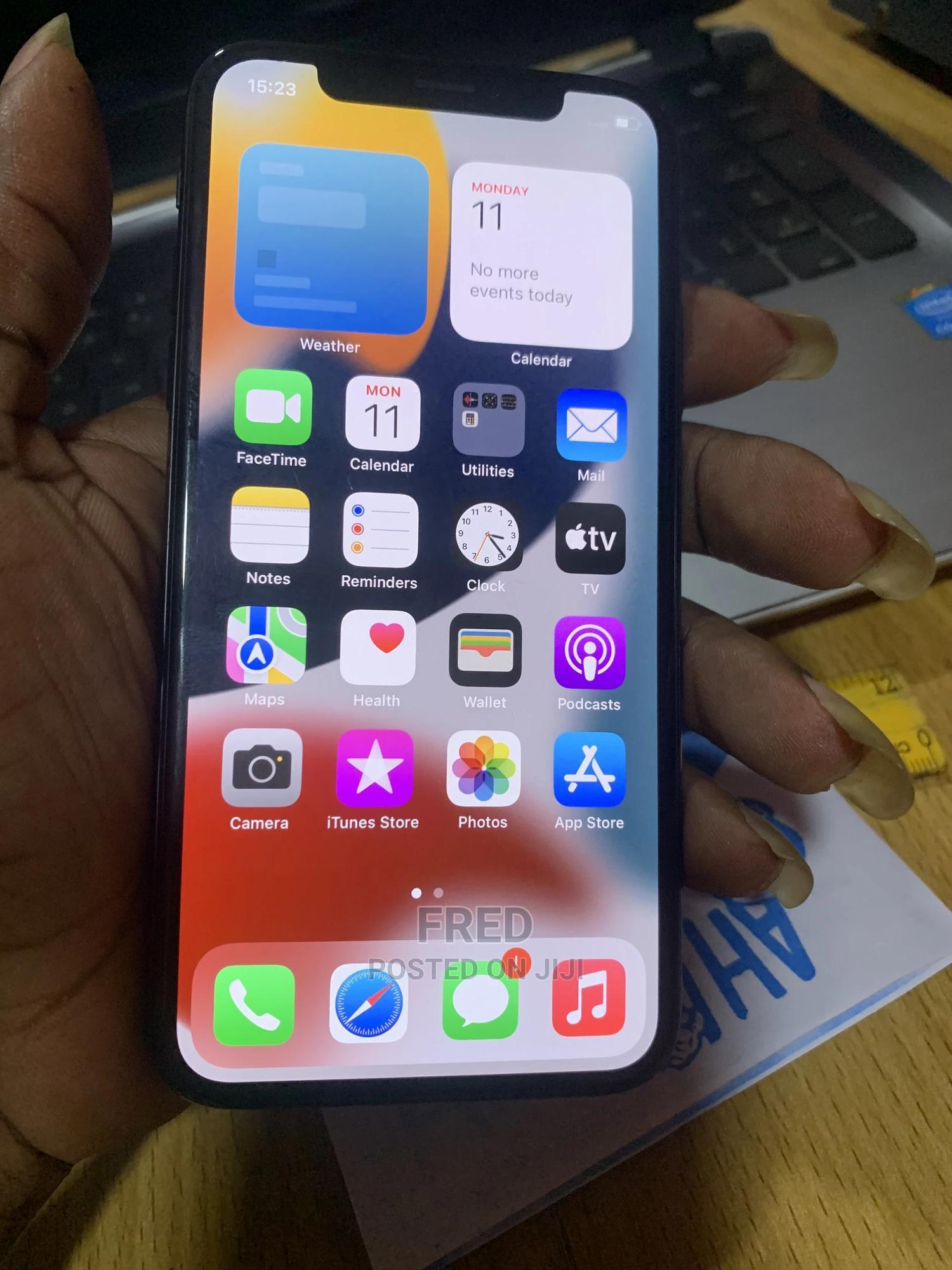 Apple iPhone X 64 GB Black | Mobile Phones for sale in Benin City, Edo State, Nigeria