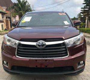 Toyota Highlander 2016 Red | Cars for sale in Lagos State, Amuwo-Odofin
