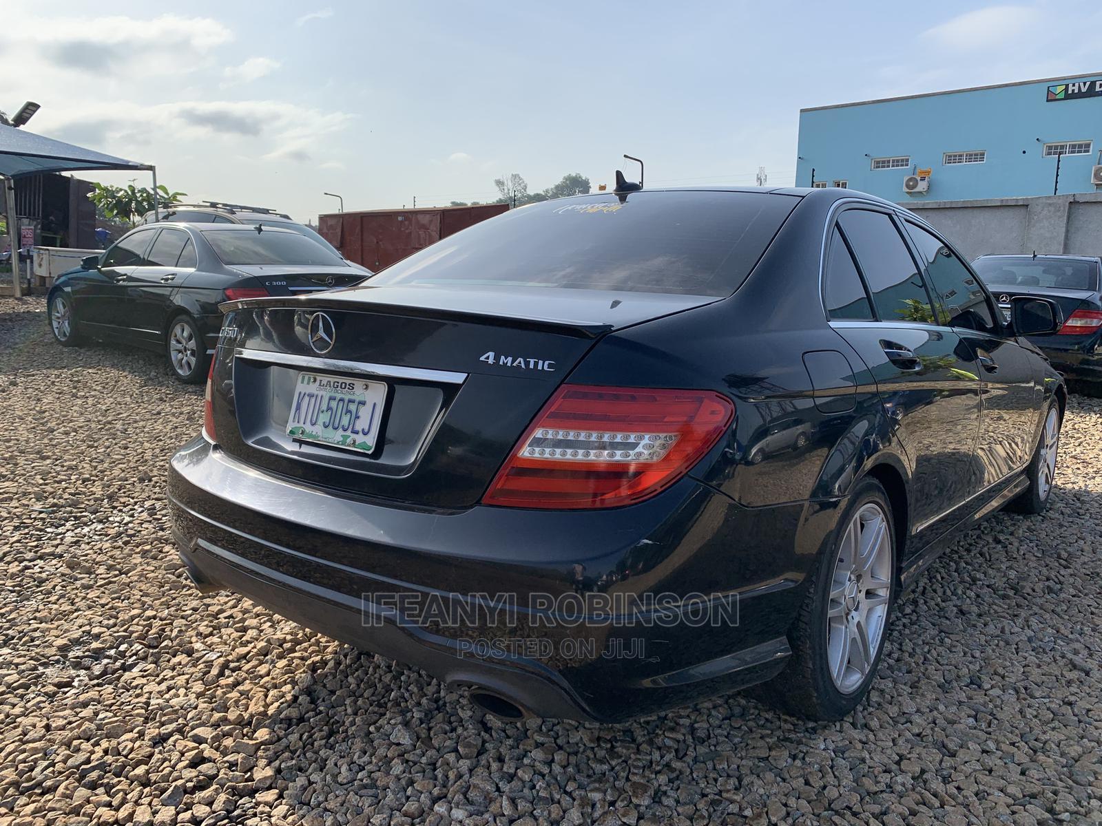 Mercedes-Benz C350 2008 Black | Cars for sale in Gwarinpa, Abuja (FCT) State, Nigeria