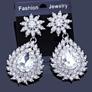 Silver and Gold Bridal Earring | Wedding Wear & Accessories for sale in Lagos State, Gbagada