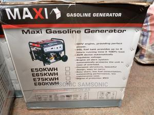 MAXI GENERATOR E80WH 8.5kva 100% Copper | Electrical Equipment for sale in Lagos State, Ikorodu