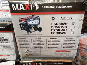 MAXI GENERATOR E50kwh 5.5kva 100% Copper | Electrical Equipment for sale in Lagos State, Ikorodu