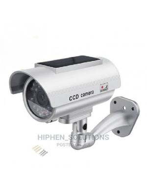 Solar Power CCTV Camera Fake Security Outdoor Dummy Camera | Security & Surveillance for sale in Rivers State, Ahoada
