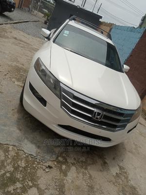 Honda Accord Crosstour 2010 White   Cars for sale in Lagos State, Ifako-Ijaiye
