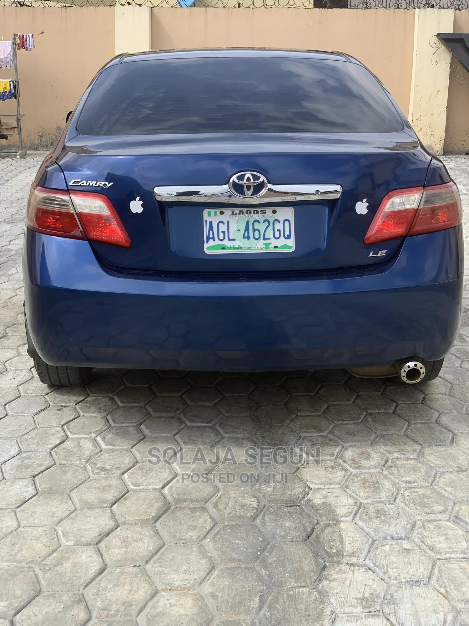 Toyota Camry 2008 2.4 LE Blue   Cars for sale in Ikorodu, Lagos State, Nigeria