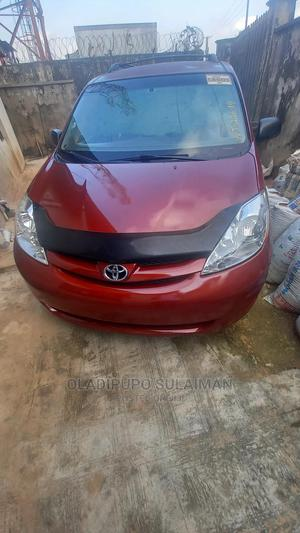 Toyota Sienna 2008 CE FWD Red | Cars for sale in Lagos State, Ifako-Ijaiye