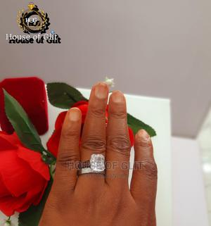 Silver Stainless Steel 2set Wedding and Engagement Rings   Wedding Wear & Accessories for sale in Imo State, Owerri