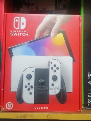 Nintendo Switch–OLED Model W/White Joy-Con | Video Game Consoles for sale in Lagos State, Lagos Island (Eko)
