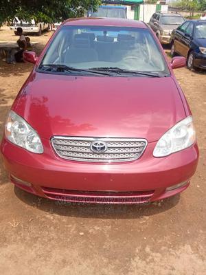 Toyota Corolla 2003 Sedan Red | Cars for sale in Abuja (FCT) State, Karu