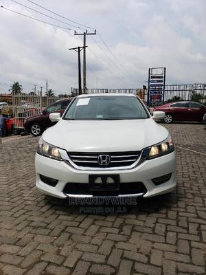 Honda Accord 2013 White   Cars for sale in Lagos State, Magodo
