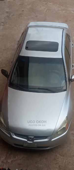 Honda Accord 2005 Sedan LX V6 Automatic Silver | Cars for sale in Delta State, Oshimili South