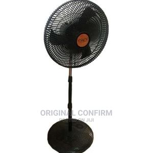Ox PLUS 18inch Standing Fan-Black. | Home Appliances for sale in Lagos State, Ojo