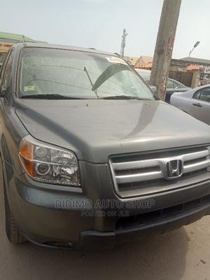 Honda Pilot 2006 LX 4x2 (3.5L 6cyl 5A) Gray | Cars for sale in Lagos State, Ajah