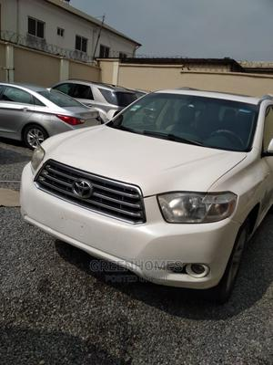 Toyota Highlander 2008 White   Cars for sale in Lagos State, Ejigbo