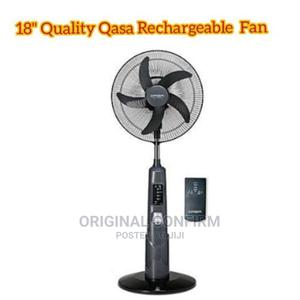 Qasa Quality 18-Inch Rechargeable Standing Fan | Home Appliances for sale in Lagos State, Ojo