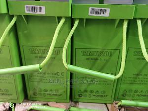 12V 200ah Monbat Battery Made in Europe.   Solar Energy for sale in Lagos State, Ojo