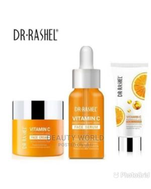 Dr Rashell Dr. Rashel Vitamin C Face Cream And Serum | Skin Care for sale in Lagos State, Ojo