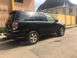 Honda Pilot 2007 EX-L 4x4 (3.5L 6cyl 5A) Black   Cars for sale in Lagos State, Abule Egba