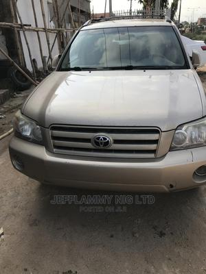 Toyota Highlander 2007 Gold   Cars for sale in Lagos State, Ejigbo