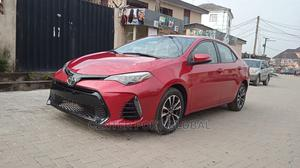 Toyota Corolla 2018 LE Eco (1.8L 4cyl 2A) Red   Cars for sale in Lagos State, Isolo