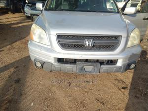 Honda Pilot 2003 EX 4x4 (3.5L 6cyl 5A) Silver | Cars for sale in Oyo State, Akinyele