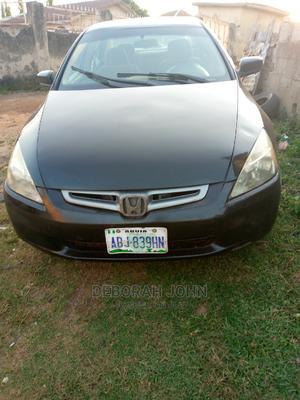 Honda Accord 2003 2.4 Automatic Black | Cars for sale in Abuja (FCT) State, Kubwa