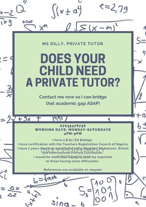 Home Lesson Teacher for Upper Primary | Teaching CVs for sale in Rivers State, Port-Harcourt