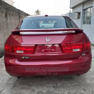 Honda Accord 2005 2.0 Comfort Automatic Red   Cars for sale in Lagos State, Ikeja