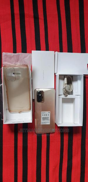 Xiaomi Redmi Note 10 Pro 128 GB Gold   Mobile Phones for sale in Lagos State, Ikeja