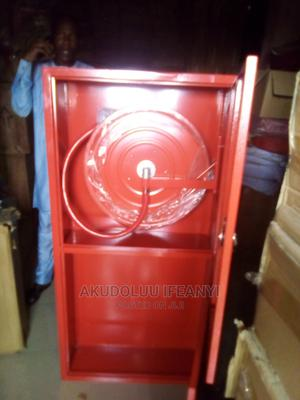Hose Reel Cabinet and Fire Extinguisher Stand | Safetywear & Equipment for sale in Lagos State, Surulere