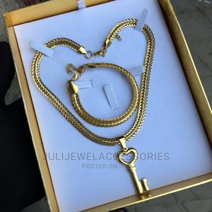 Men Jewelry Set. Necklace and Bracelet   Jewelry for sale in Lagos State, Ojo