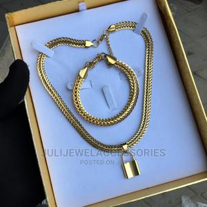 Unisex Necklace and Bracelet   Jewelry for sale in Lagos State, Ojo