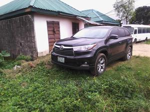 Toyota Highlander 2016 Black   Cars for sale in Rivers State, Eleme