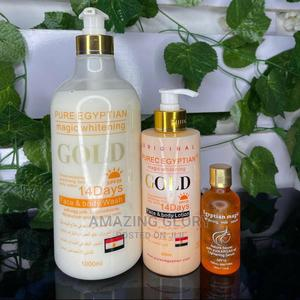 Pure Egyptian Gold Set | Skin Care for sale in Lagos State, Lekki