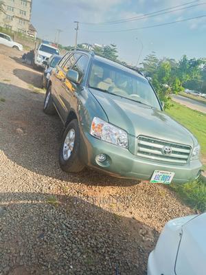Toyota Highlander 2006 Green | Cars for sale in Abuja (FCT) State, Gudu