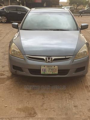 Honda Accord 2006 Sedan LX 3.0 V6 Automatic Gray   Cars for sale in Abuja (FCT) State, Wuye