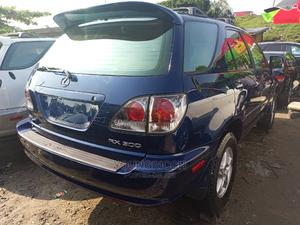 Lexus RX 2001 300 4WD Blue | Cars for sale in Lagos State, Apapa