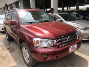 Toyota Highlander 2004 Limited V6 4x4 Burgandy | Cars for sale in Lagos State, Amuwo-Odofin