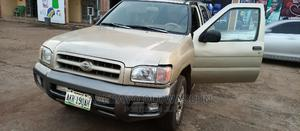 Nissan Pathfinder 2002 SE AWD SUV (3.5L 6cyl 5M) Gold | Cars for sale in Ondo State, Akure