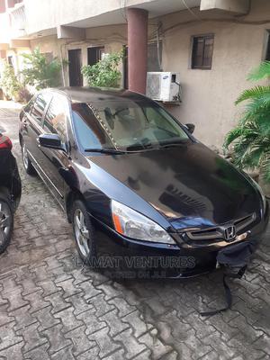 Honda Accord 2004 Sedan EX Black | Cars for sale in Lagos State, Ikeja