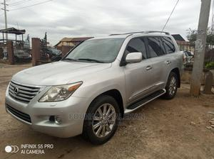 Lexus LX 2010 570 Silver   Cars for sale in Lagos State, Surulere