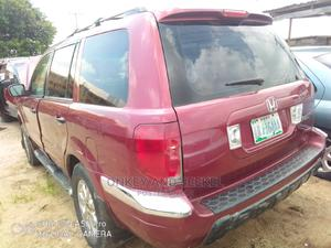 Honda Pilot 2004 Red | Cars for sale in Abuja (FCT) State, Mararaba