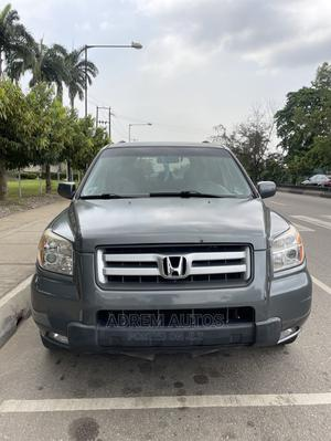 Honda Pilot 2008 EX-L 4x4 (3.5L 6cyl 5A) Gray | Cars for sale in Lagos State, Ogba