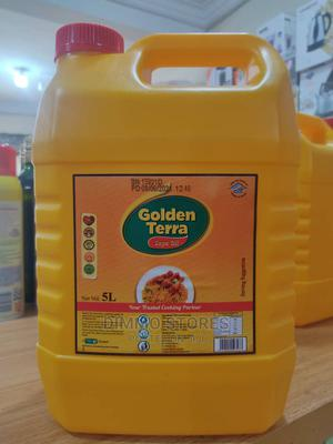 Golden Terra Soya Oil 5L   Meals & Drinks for sale in Ogun State, Abeokuta South