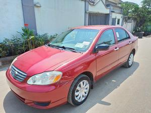 Toyota Corolla 2004 Red | Cars for sale in Lagos State, Isolo