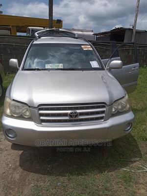 Toyota Highlander 2002 Silver   Cars for sale in Lagos State, Alimosho