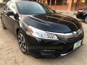 Honda Accord 2016 Black | Cars for sale in Lagos State, Magodo