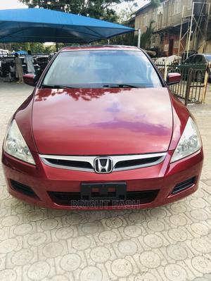 Honda Accord 2007 Red | Cars for sale in Abuja (FCT) State, Gwarinpa