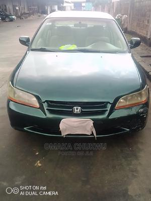 Honda Accord 2000 Coupe Green   Cars for sale in Lagos State, Oshodi