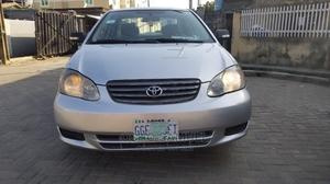 Toyota Corolla 2004 LE Silver | Cars for sale in Lagos State, Surulere